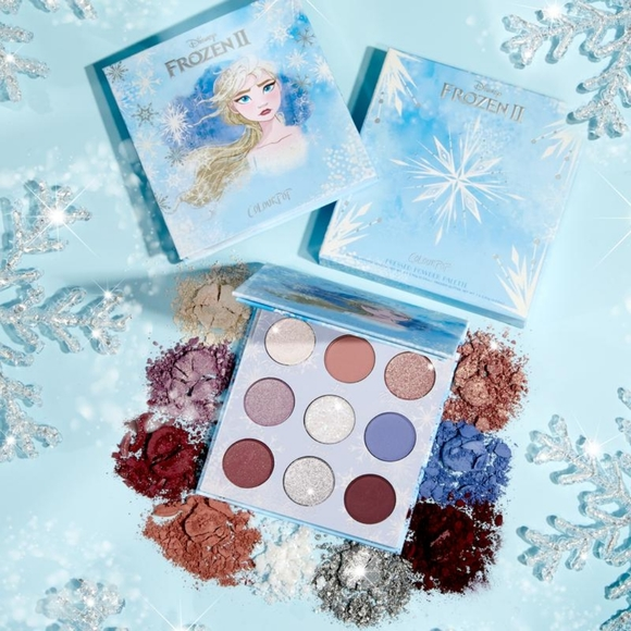 Colourpop Other - ❄💙Frozen 2 Elsa × Colourpop Palette / Lipstick💙❄